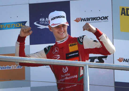 Ferrari ficha al príncipe Schumacher