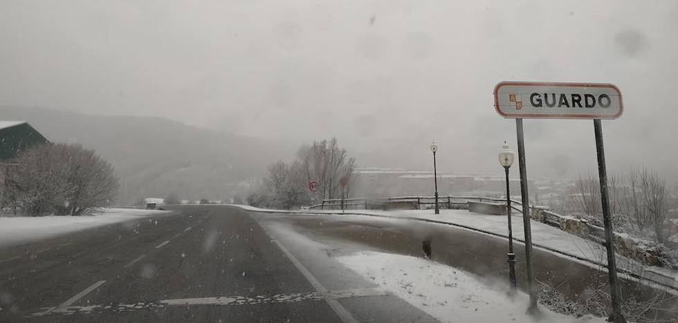 Palencia, en alerta amarilla por nieve