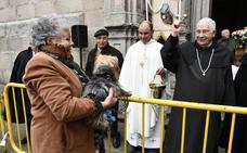El Espinar celebra la fiesta de San Antón con la bendición de los animales