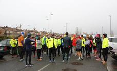 Primer entrenamiento de la Media Maratón de Salamanca