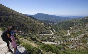 El puerto el Pico, en Ávila, registra la temperatura más baja de la comunidad con -7,6 grados