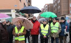 Concentración en la Pilarica por el retraso en las obras del túnel