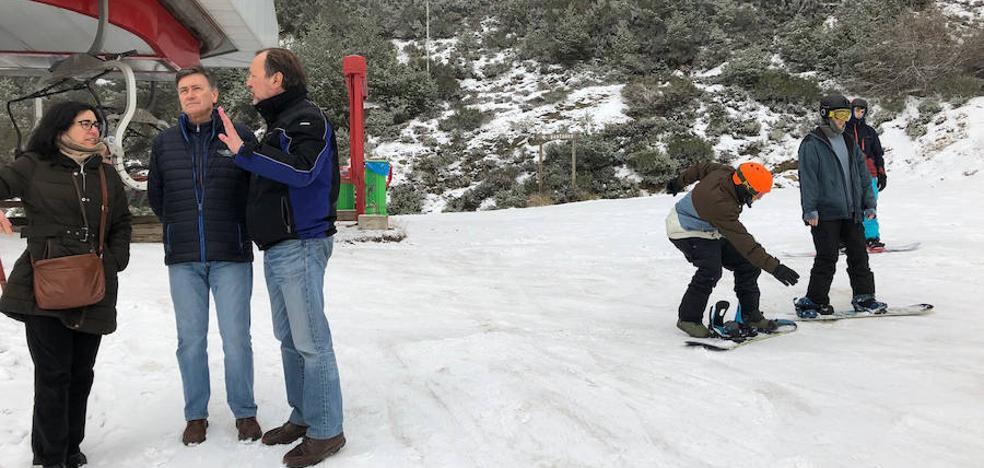 La estación segoviana de La Pinilla inicia la temporada de esquí