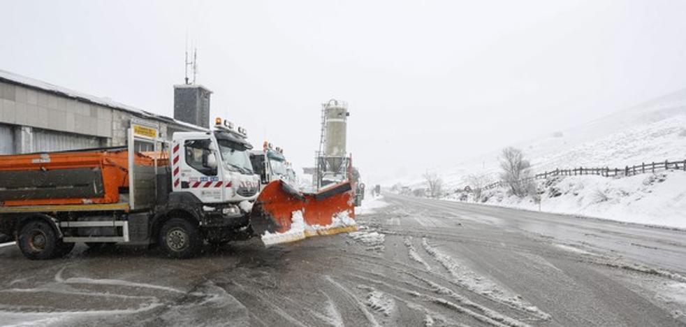 Desactivan fase de alerta por nieve en provincias de Soria, Burgos y Palencia