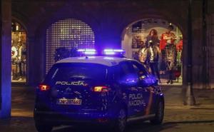 Se lía a puñetazos y cabezazos con los policías que querían detenerle en Salamanca