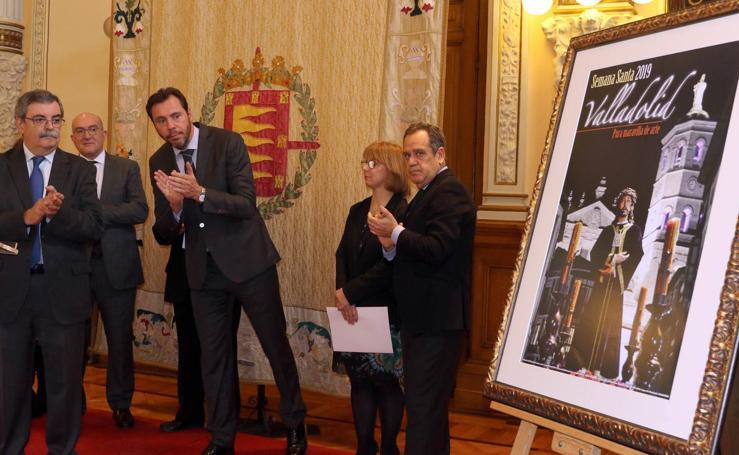 Presentación del cartel de la Semana Santa de Valladolid 2019