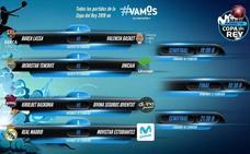 Barça-Valencia y Real Madrid-Estudiantes, duelos estelares