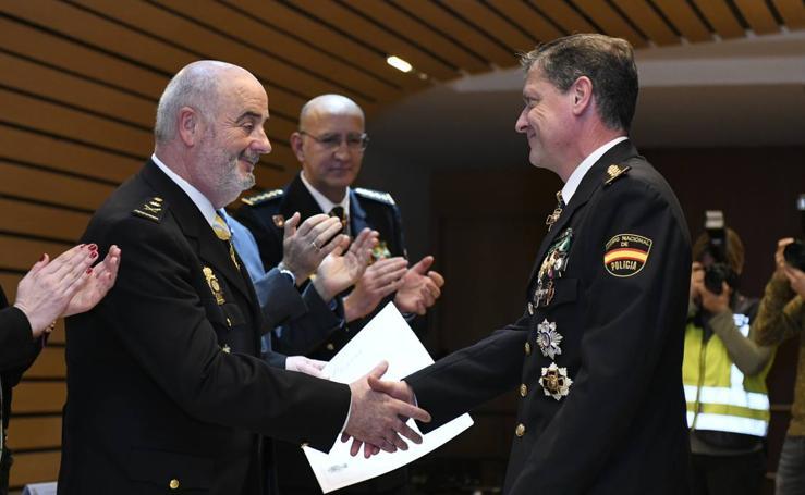 La Policía Nacional de Valladolid celebra su 195 aniversario