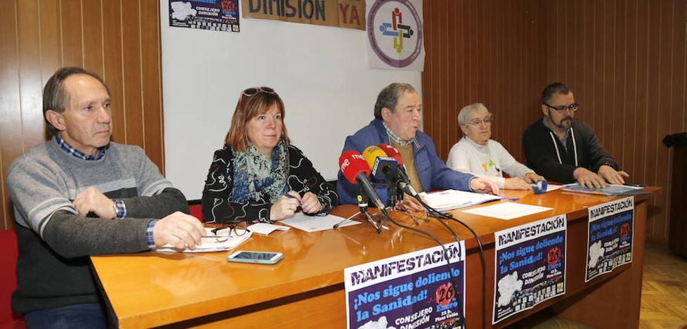 Las plataformas por la sanidad de Palencia piden a los vecinos que se movilicen el sábado en Valladolid