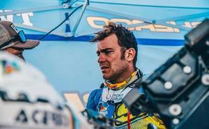 Lorenzo Santolino regresa a España este martes tras su accidente en el Dakar