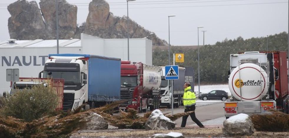 Reabierta la A-67 al tráfico de camiones después del embolsamiento realizado en Aguilar de Campoo