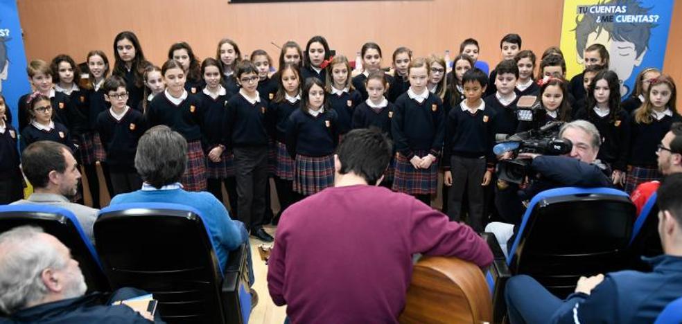 Una canción de Celtas Cortos adaptada por el colegio San José llega a miles de niños de todo el país
