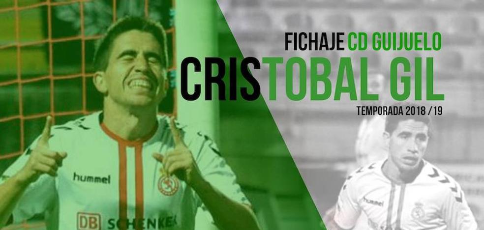 El centrocampista Cristóbal Gil Martín, nuevo jugador del CD Guijuelo