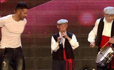 Fallece a los 96 años Serafín Vaquerizo, el dulzainero segoviano que emocionó a España en 'Got Talent'