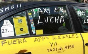 Las claves de la guerra Taxi-VTC y la revolución de las tecnológicas