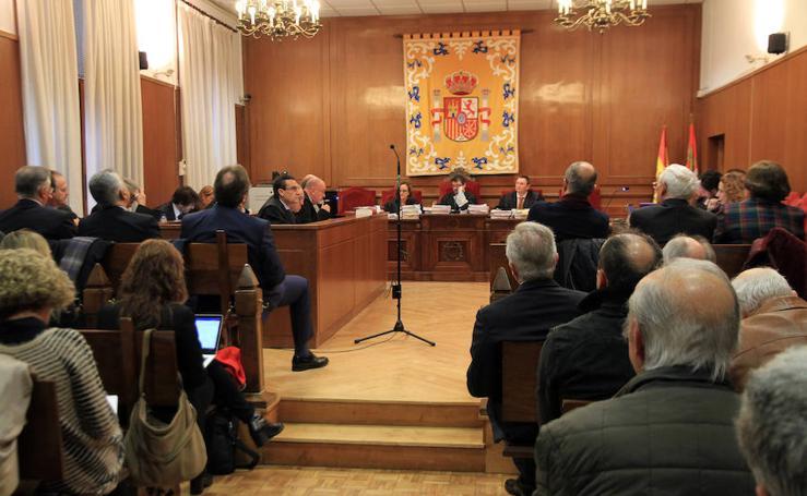 Comienza el juicio de Caja Segovia