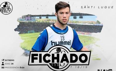El extremo Santi Luque, nuevo jugador del Salamanca CF