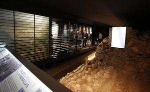 Los restos de la la muralla prerromana serán visitables desde este viernes
