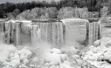 Las cataratas del Niágara se congelan