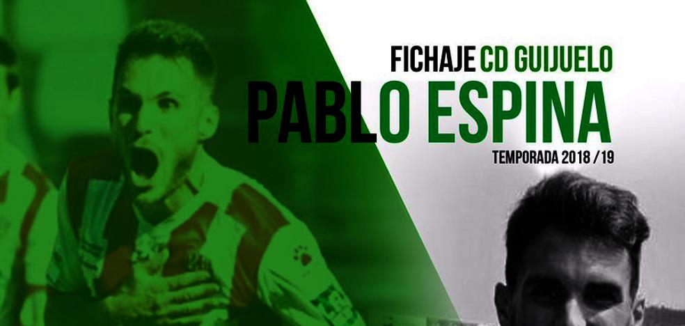 Pablo Espina se convierte en nuevo jugador del CD Guijuelo