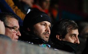 Lovato pone como reto del Salamanca CF el play-off y cuestiona algunas decisiones del técnico Antonio Calderón
