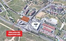 Urbanismo concede licencia para un gran supermercado en uno de los accesos a Parquesol