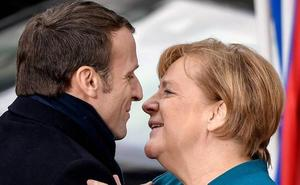Merkel y Macron marcan el camino a la UE