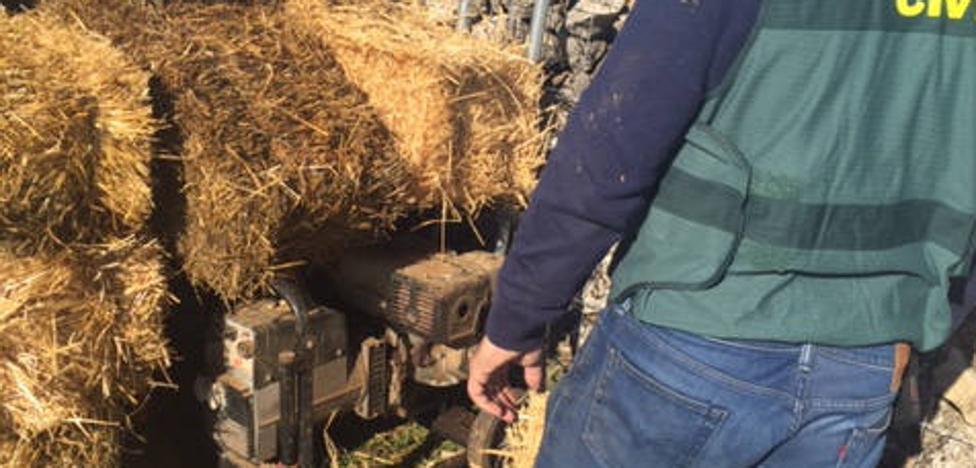Dos detenidos y otros dos investigados por varios robos en explotaciones agrarias de Segovia