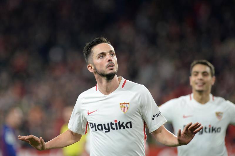 Las mejores imágenes del Sevilla-Barça