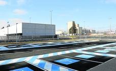 El nuevo aparcamiento del hospital de Palencia funcionará en marzo