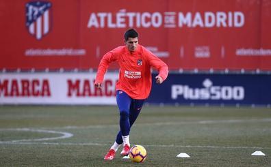 Simeone busca en Morata el acierto que le ha faltado con los delanteros