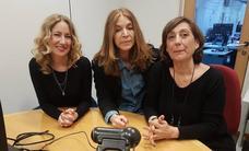 Las actrices de 'Ballenas asesinas', en el videochat: «Tenemos muy buenos recuerdos de Valladolid»