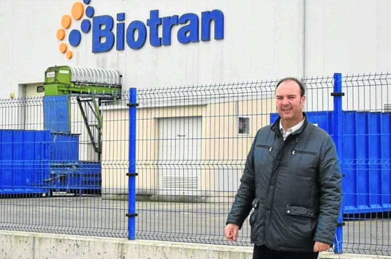 La empresa de gestión de residuos Biotrán ampliará su planta de Tudela
