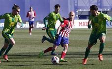 Cruel derrota para Unionistas en la prolongación ante el Atlético de Madrid B (3-2)