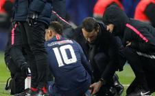 Neymar no jugará contra el Manchester United por su lesión