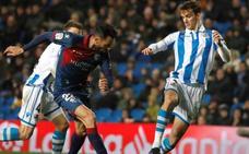 Empate insuficiente para Real Sociedad y Huesca