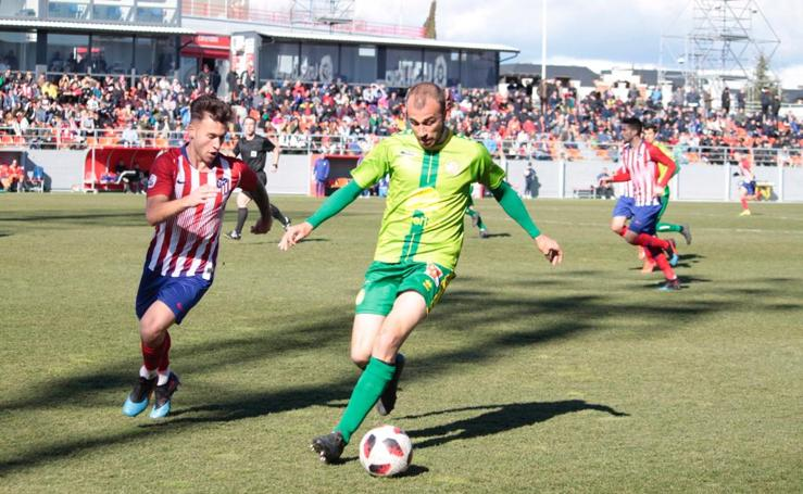 Atlético de Madrid B 3 - 2 Unionistas