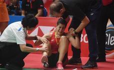 Carolina Marín se rompe el cruzado