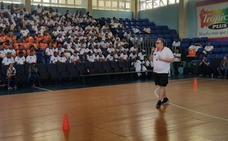 El salmantino José Ignacio Hernández imparte un clinic para entrenadores en Santo Domingo