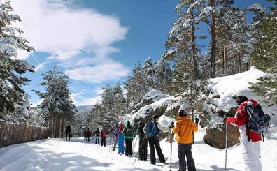La estación de esquí de Navafría ya tiene todas sus pistas disponibles