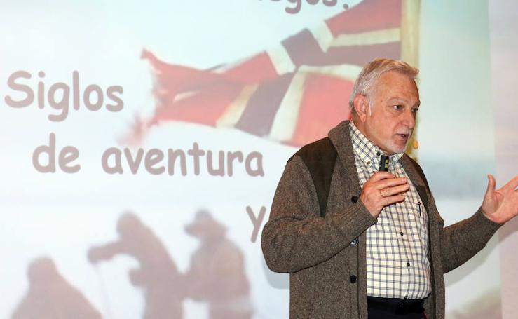 Javier Cacho en el Aula de Cultura de El Norte de Castilla