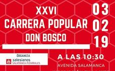 La XXVI Carrera Popular Don Bosco llega a Salamanca este domingo