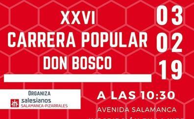La XXVI Carrera Popular Don Bosco llega a Salamanca este domingo