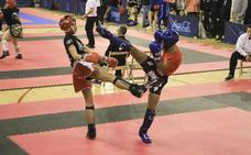 Buen papel de los clubes salmantinos en el IV Open Ciudad de Salamanca de Kickboxing