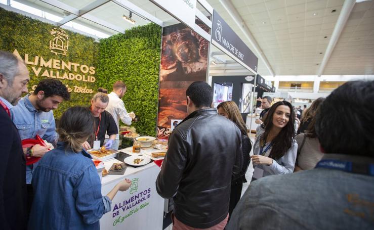 Stand de Alimentos Valladolid en Madrid Fusión