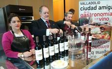 Valladolid enseña a maridar el queso y el vino