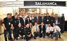 Salamanca promociona el ibérico y su uso en la alta cocina en el cierre de Madrid Fusión