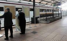 Adif licita por 566.000 euros la mejora de accesos a los andenes de la estación de Valladolid