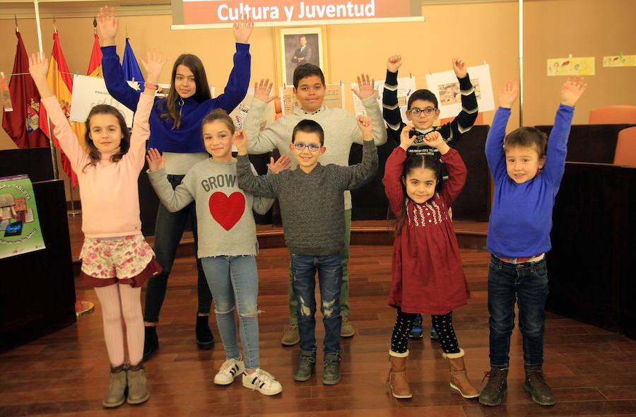 Entrega de premios del concurso Marcapáginas de la Diputación Provincial.