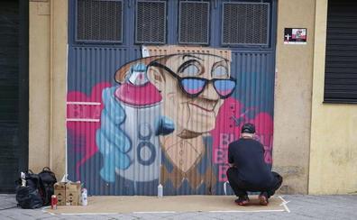 El barrio del Oeste convoca una nueva edición de la Galería Urbana